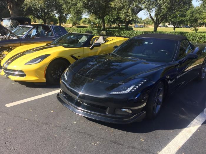 Corvette Cargo Partitions